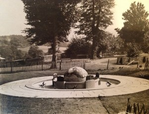 1935World Fountain Construction of pavements