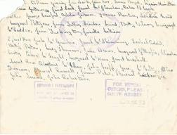 1955 HIgh Blantyre Primary School names
