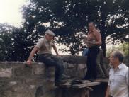 1988 Repairing Kirkyard Walls