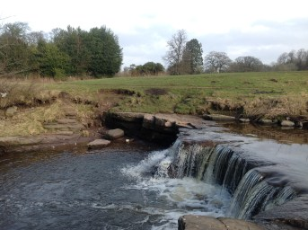 2015 Milheugh Falls in February (PV)