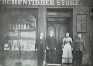 1910 Auchentibber Store