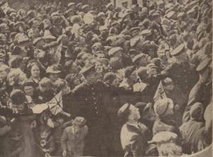 1938 Royal Visit at Hamilton Town Hall