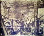 1950 Flour Mill fire. Shared by G Cook