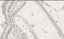 1859 Calderbank Estate map