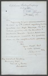 1881 Inspection of Railway