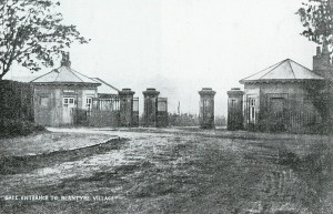The two Gate Cottages shown in 1903