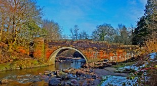 2015 Milheugh Bridge February by Robert Stewart