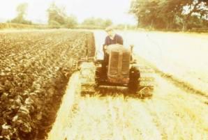 Ploughing at Malcolmwood
