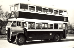 Double Decker bus of the era