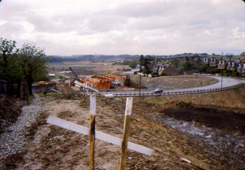 1967 June Construction of the M74. Shared by A Hastings