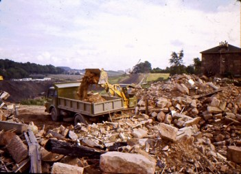 1967 Construction of M74. Shared by A Hastings