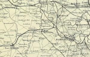 1881 Railways around Blantyre