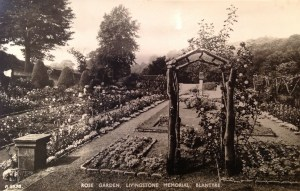 1929 The Rose Garden, David Livingstone Centre (PV)