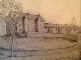 1930 David Livingstone Centre, drawn by Mary Sommerville Gossman