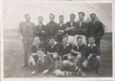 1950 Blantyre YMCA Football Team. Shared by Catherine Macury