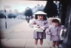 1961 Girls on Station Road