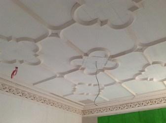 2014 Dec Ceiling renovation at Crossbasket Castle (PV)