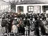 1877 Blantyre Explosion sketch