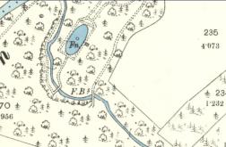 1898 Map near Calderside