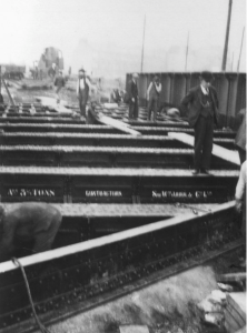 1931 Railway Bridge being replaced