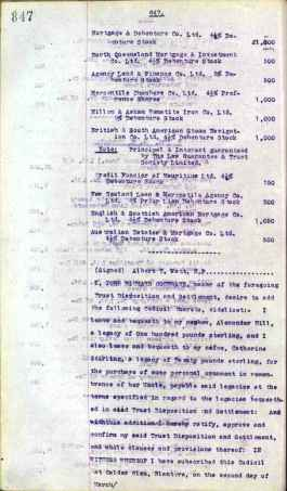 1921 J.R Cochrane's Will Page 17 of 36