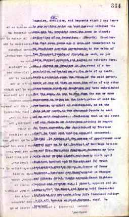 1921 J.R Cochrane's Will Page 4 of 36