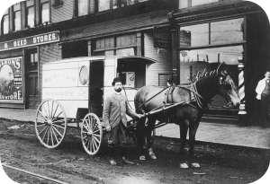 1881 Bakers Van