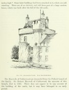 1765 Sketch of Crossbasket Tower and Mansion House by P Sandby?