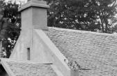 1908 Auchentibber Inn Concrete skews and anti climb ironwork