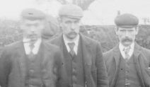1908 Quoiting team at Barnhill