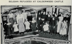 1914 Belgian Refugees at Calderwood