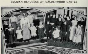 1914 Belgian Refugees at Calderwood