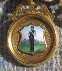 1925 On the back of this medal says: A.Q.C. S & L Finalists 1925 J N