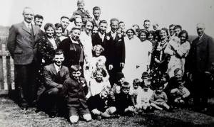 1934 Gardner Wedding at Blantyre. Shared by N Scott