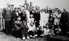 1934 Gardner Wedding at Blantyre. Shared by N Scott