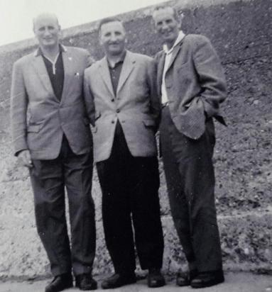 1965 Bob, Jim and John Gardner