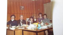 1980 Peter Moncreiff and office staff Blantyre High School