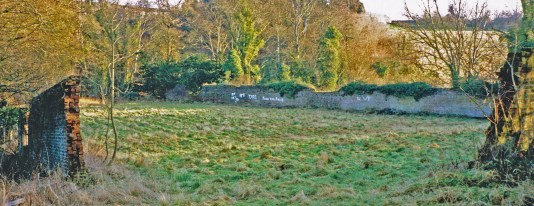 1994 Walled Garden ruins at Caldergrove