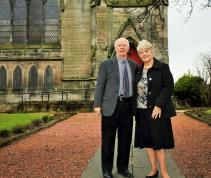 Neil and Christine Scott celebrate their 54th wedding anniversary