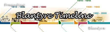 Blantyre Timeline