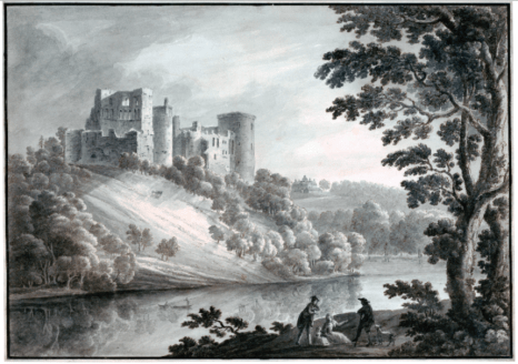 Bothwell Castle by Robert Adam, 1782