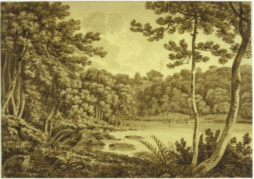 Bothwell House from Blantyre 1797