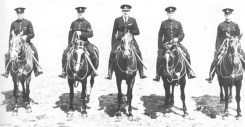 1935 Ronald Paterson Wilson (of Parkville) and members of West Sussex Police