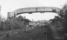 1961 High Blantyre Train Station in May. Good resolution Photo E Towley