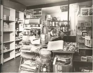 1970s early 70s Paint store, Stonefield Road, (not McCorgarys)