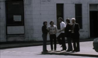 1978 Hanging around the Priory Bar, Logan Street