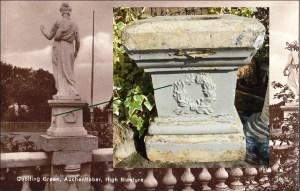 Remains of Auchentibber plinths