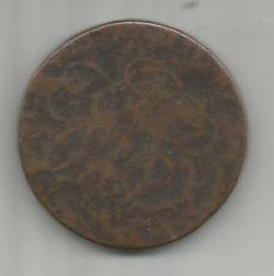 Coin found at Calderside Farm