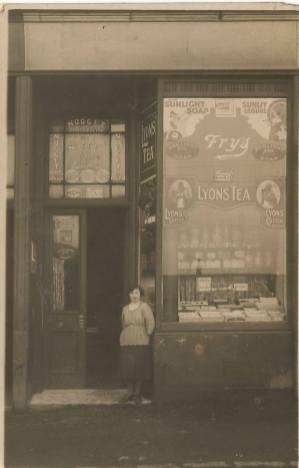 1910s Unknown shop in Blantyre.