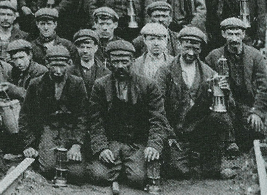 1890s Miners at Dixons Pit 2